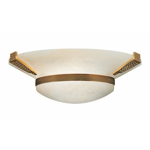 Nilo Wall Lamp Níquel Satin/Oro Alabaster white