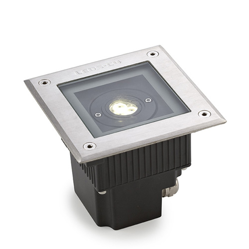 Gea Recessed suelo 3 x LED Cree 6.5W <40C Stainless Steel