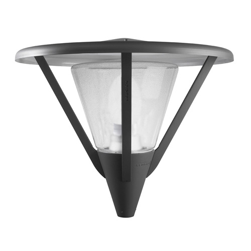 Heads Streetlight with protector E27 100W Grey urbano