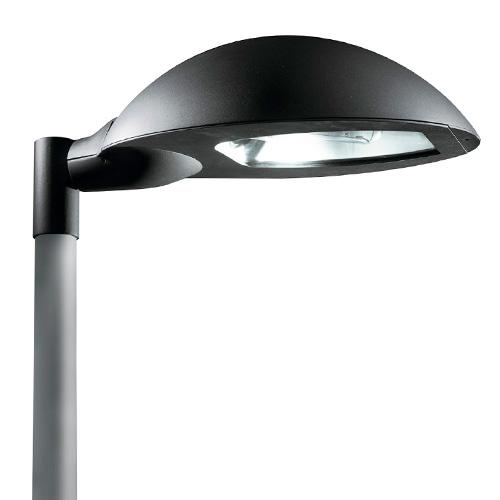 Elipse Farola LED 65 4000K Transparente negro forja