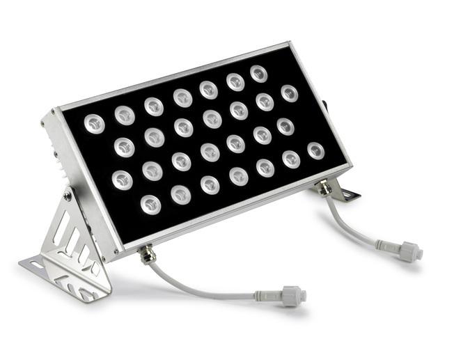 Ray proiettore 28 x LED Cree 48W bianco cálido 3000K 4046 lm(N) Anodizzato