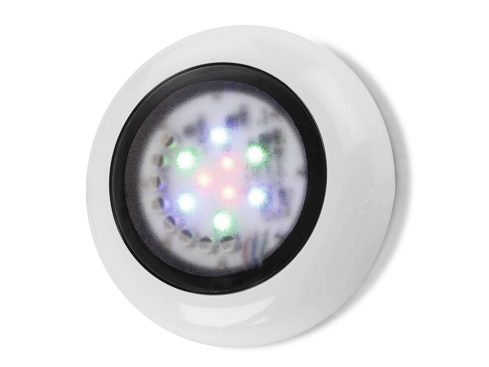 Aqua proyector para piscina de Superficie ø18cm IP68 LED 3x3w blanco Neutral 4200K