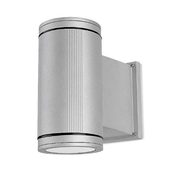 Afrodita Wall Lamp 15x29x29cm 70W G12 HID Grey Urbano