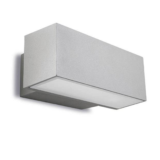Afrodita Aplique Exterior 30x12x17cm 2xG24q-3 26w (FL) gris