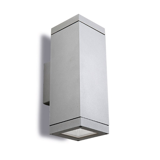Afrodita Wall Lamp Outdoor 31x11x11cm PAR30 E27 Grey