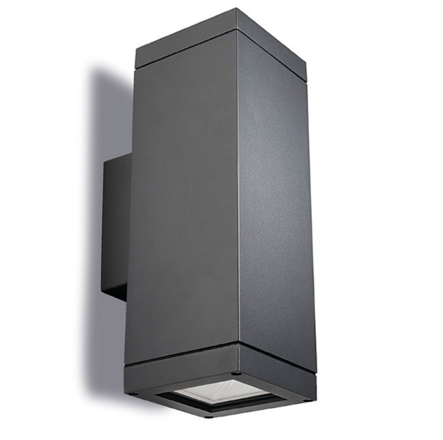 Afrodita Wall Lamp Outdoor 31x11x11cm PAR30 E27 Grey Urbano