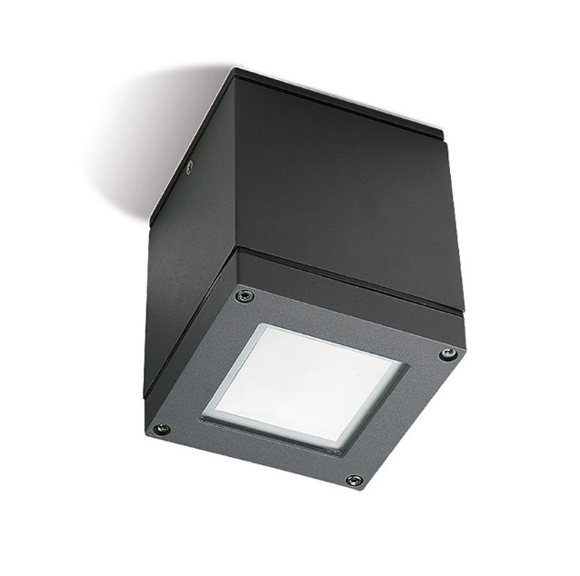 Afrodita ceiling lamp 11x11x14cm Par 30 E27 75W Grey Urbano