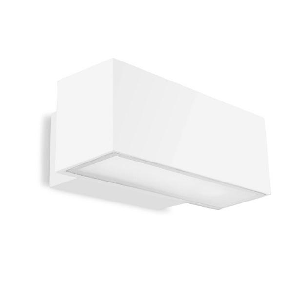 Afrodita Aplique Exterior 30x12x17cm 2xG24q-3 26w (FL) blanco