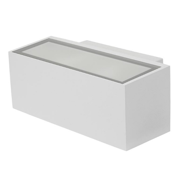 Afrodita Wall Lamp Outdoor 22x9x12cm R7s 150w Halogen white
