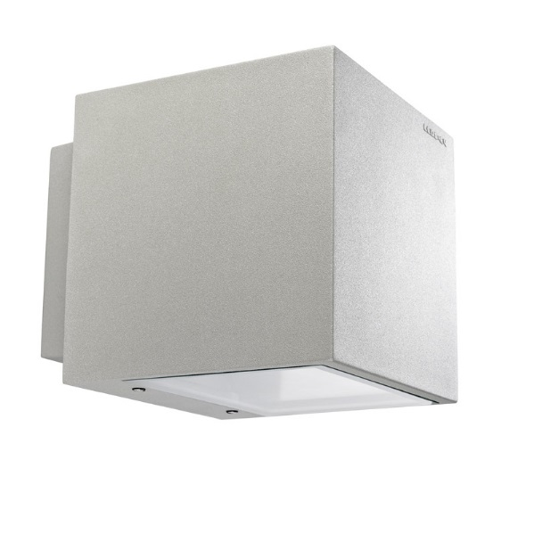 Afrodita Wall Lamp Outdoor 20x20x23cm G12 70w HID Grey