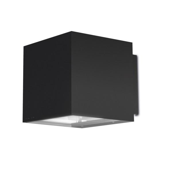 Afrodita Aplique Exterior 20x20x23cm G12 70w HID gris Urbano