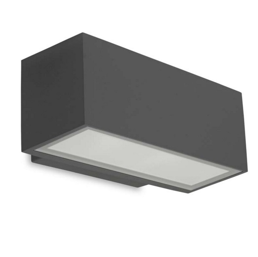 Afrodita Wall Lamp Outdoor Grey urbano 10xLED 11.5W