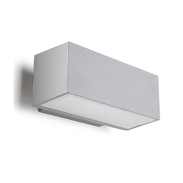 Afrodita Wall Lamp Outdoor 22x9x12cm R7s 150w Halogen Grey