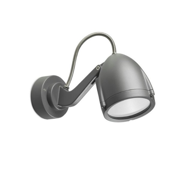 Alien projector Wall Lamp Halogen Grey Urbano 1xE27 Max 75W