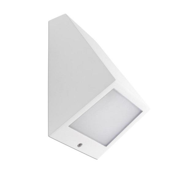 Angle Aplique Exterior blanco LED 3000k con driver incorporado pequeño