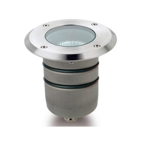 Aqua Einbauleuchten tauchbar stahl 1xGU5.3 50W
