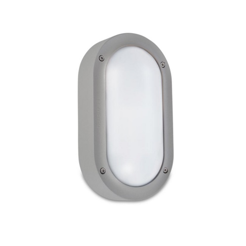 Basic Wall Lamp Grey E27 max 16W