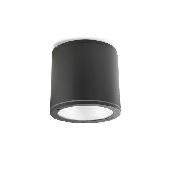 Cosmos ceiling lamp Fluorescent Grey Urbano 2xGX24d3 26W