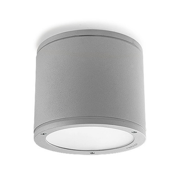 Cosmos ceiling lamp Fluorescent Grey 2xGX24d3 26W