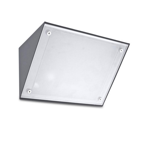 Curie Wall Lamp Outdoor Grey urbano E27 max 60W