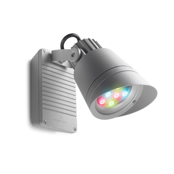 Hubble projector Grey 9 LED Cree 14W RGBDMX 8