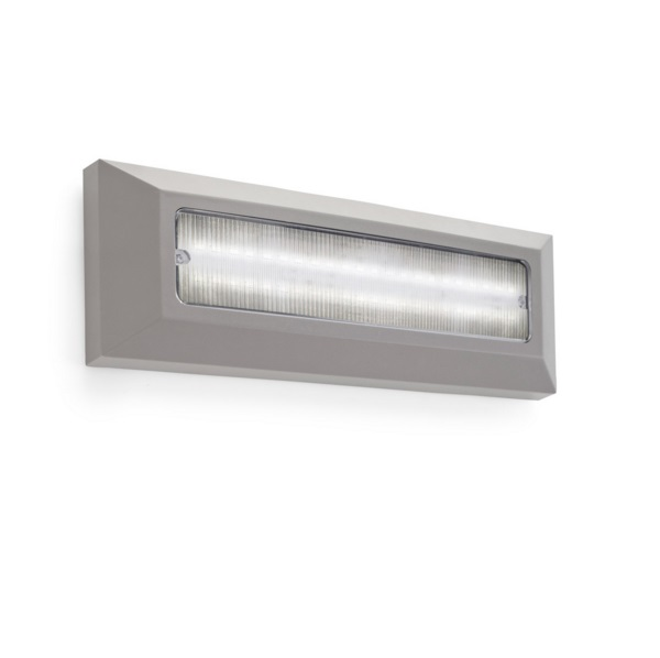 Kössel Wall Lamp rectangular Grey 4000K 44 x LED 4W