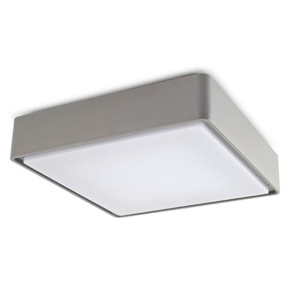 Kössel ceiling lamp Square Grey 3000K 100 x LED 6.5W