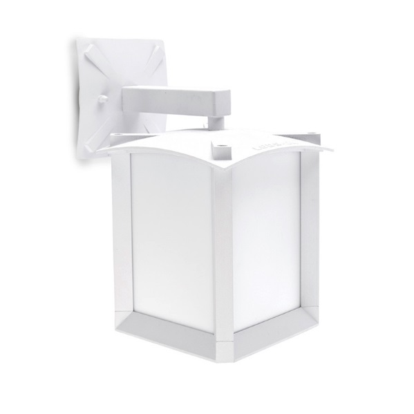 Mark Wall Lamp Outdoor white matt 1xE27 Max 100W