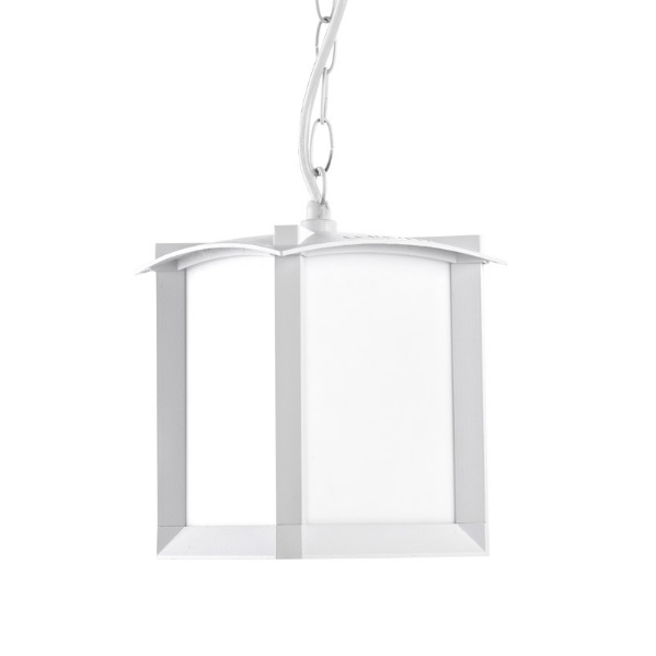 Mark Lamp Pendant Lamp Outdoor white matt 1xE27 MAX 100W