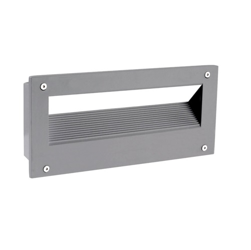 Micenas Empotrable Pared LED 5,5W 4000K- gris Urbano