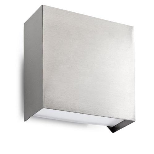 Nemesis Aplique exterior 104x114cm LED 6.6W Acero inoxidable