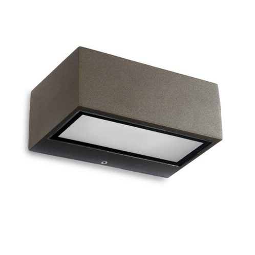 Nemesis Wall Lamp 20 LED Samsung 5,3W 3000K 644lm Grey urbano