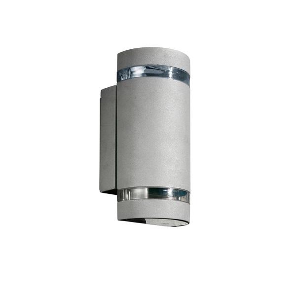 Selene Wall Lamp 10x11cm Grey 2xGU10 Max 35W
