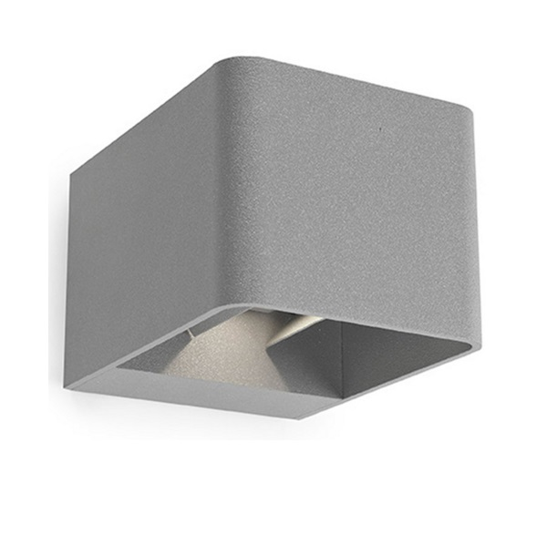 Wilson Wall Lamp Outdoor Grey urbano 24xLED 9W