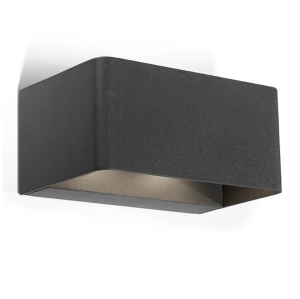 Wilson Wall Lamp Outdoor Grey urbano 48xLED 18W