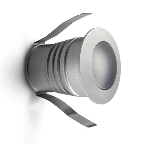 Dot punto de luz LED luz blanca /calida gris