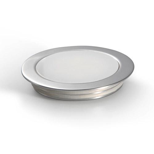 Thin Empotrable de suelo luz blanca /calida Aluminio Anodizado