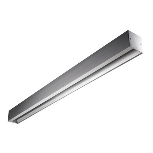 Infinite luminary Adosada TL5 G5/54w Diffuser asimétrico 120cm Grey