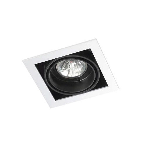 Multidir Downlight Individuel Carrée QR CBC51 GU5 Blanc