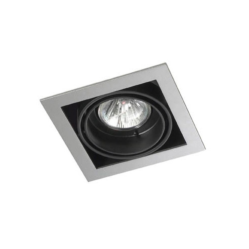 Multidir Downlight Single Square QR CBC51 GU5 Grey