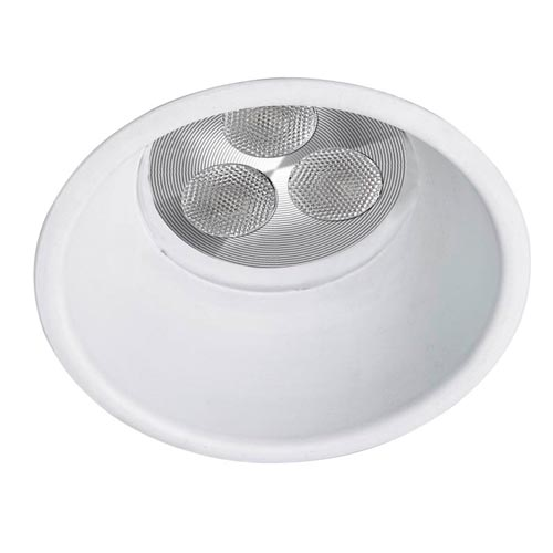 Dome Downlight Redondo fijo Qpar16 o QR-CBC 50w blanco