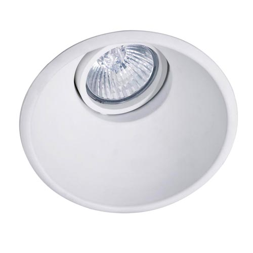 Dome Downlight Rotonda orientabile QR-CBC51 bianco