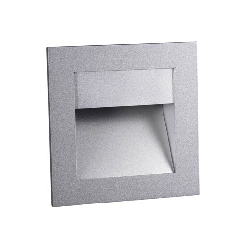 Sign luminary Recessed asimétrica Halopin G9 1x25w Grey