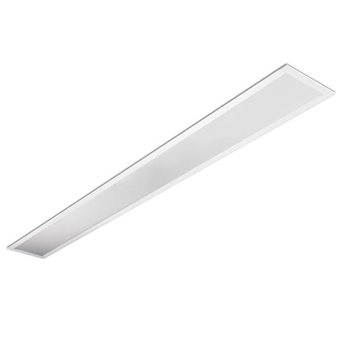 Infinite luminary Recessed 2xTL5 G5/54W Doble parabólica 121.7cm white