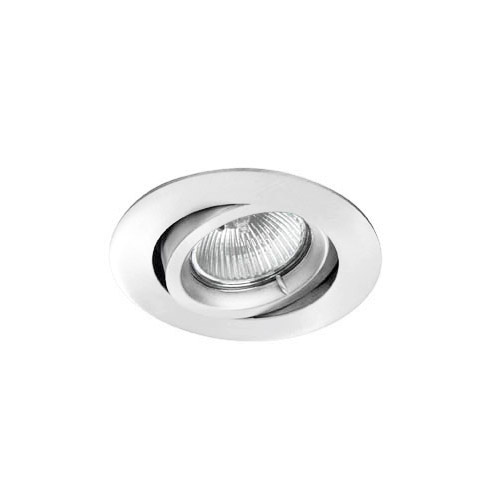 Trimium mini Downlight Orientable QPAR 16 GU10 50W Aluminio Cepillado