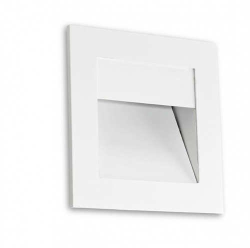 Sign luminary Recessed asimétrica LED 1x2,2w 3000 3500K white