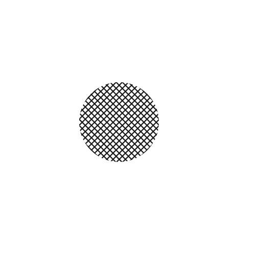 Action Zubehörteil Filter panel von Abeja Schwarz