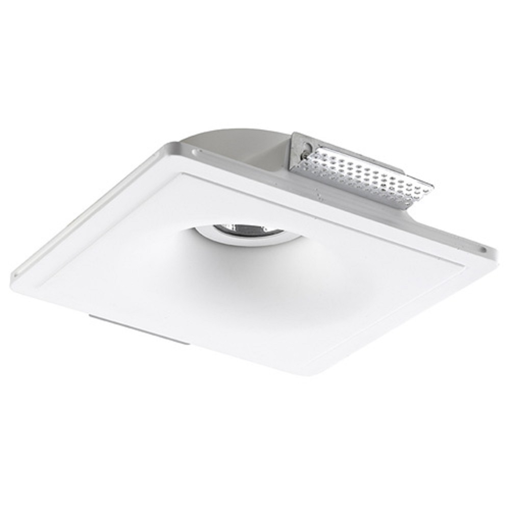 Ges Empotrable de Techo 1 x GU5.3 50W Incandescente blanco