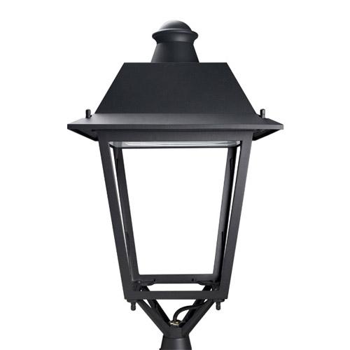 Bohemia Header Streetlight 1 x E27 HI/HS 70W (VSAP/HM) class I Black forja