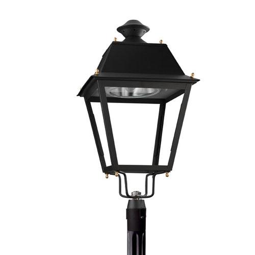 Andalucía Header Streetlight 1 x E40 HI/HS 150W (VSAP/HM) Black forja acabado al horno
